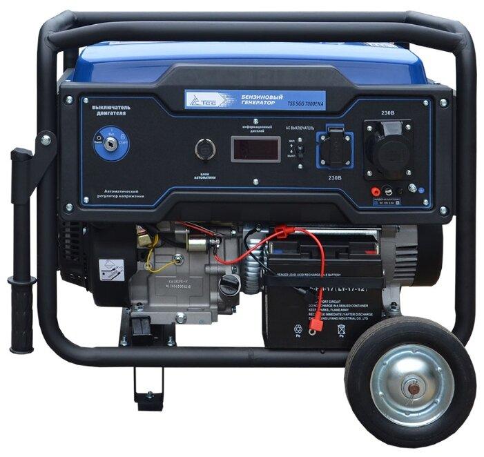 бензиновая электростанция tss sgg 7000 ena