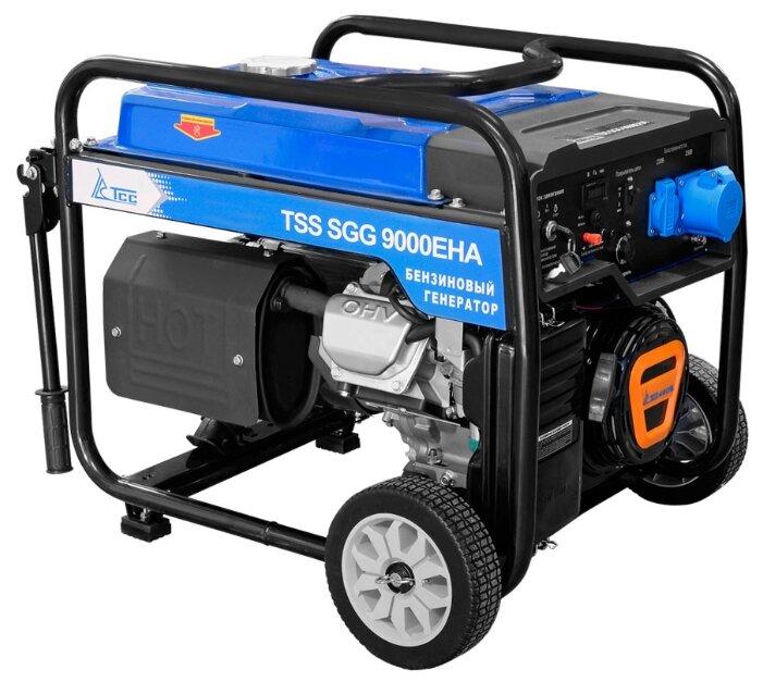 бензиновая электростанция tss sgg 9000 eha