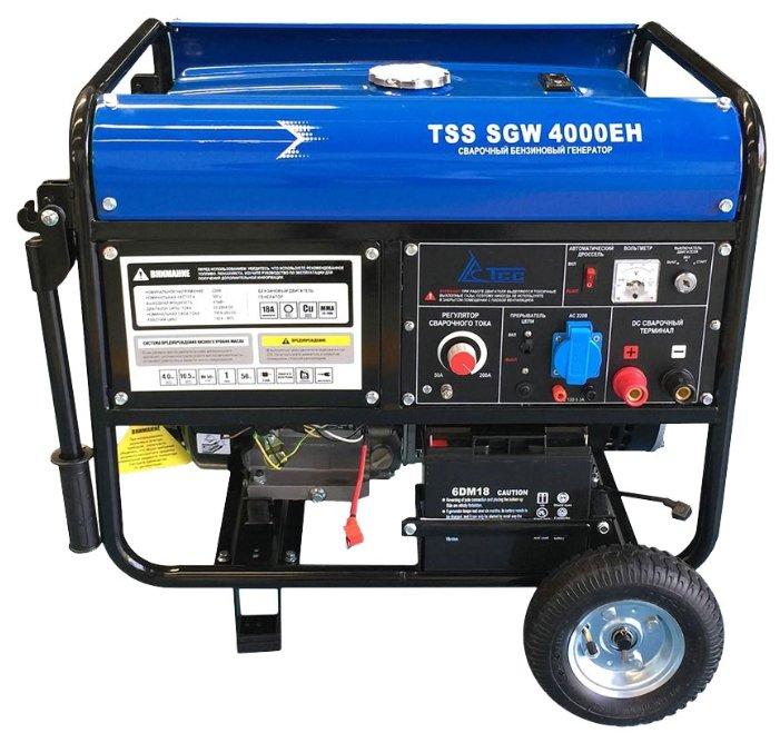 бензиновая электростанция tss sgw-4000 eh