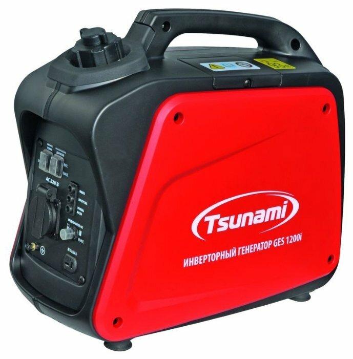 бензиновая электростанция tsunami ges 1200i