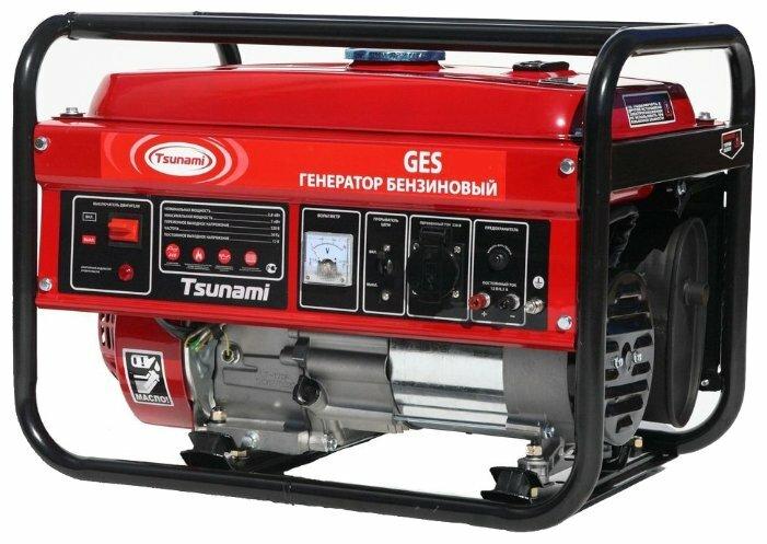 бензиновая электростанция tsunami ges 6500