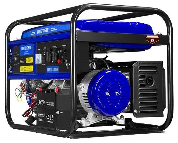 бензиновая электростанция varteg g7500 ew