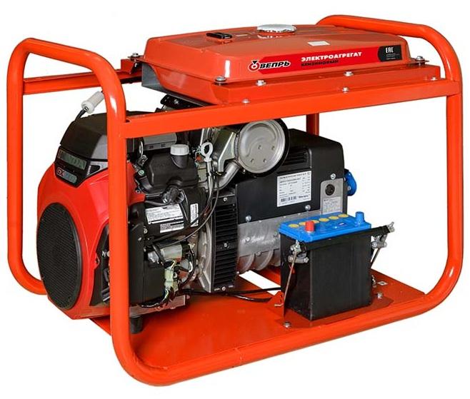 бензиновая электростанция вепрь абп 12-т400/230 вх-бсг