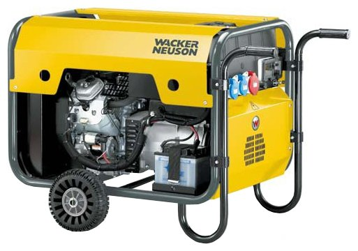 бензиновая электростанция wacker neuson gs 12ai