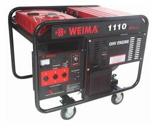 бензиновая электростанция weima wm1110