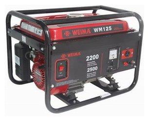 бензиновая электростанция weima wm125