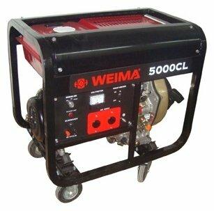 бензиновая электростанция weima wm5000cl