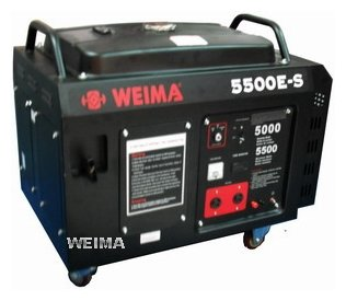 бензиновая электростанция weima wm5500e-s