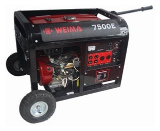 бензиновая электростанция weima wm7500