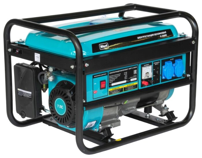 бензиновая электростанция wert g3500d
