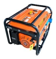 бензиновая электростанция workmaster pg-6500 е1