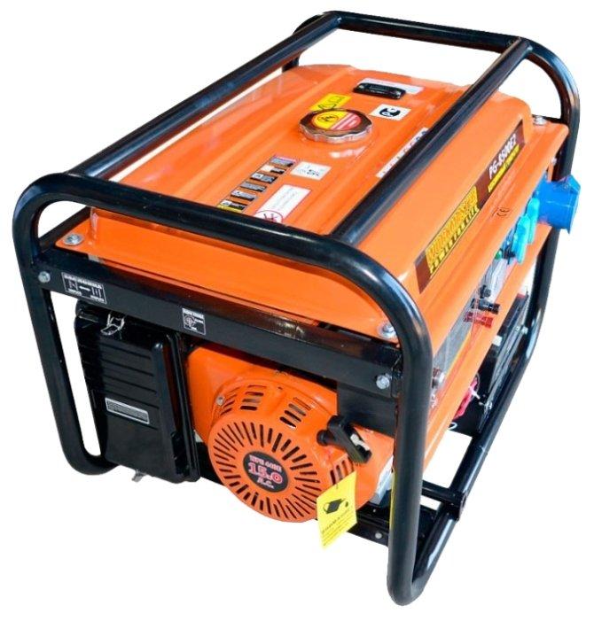 бензиновая электростанция workmaster pg-8500