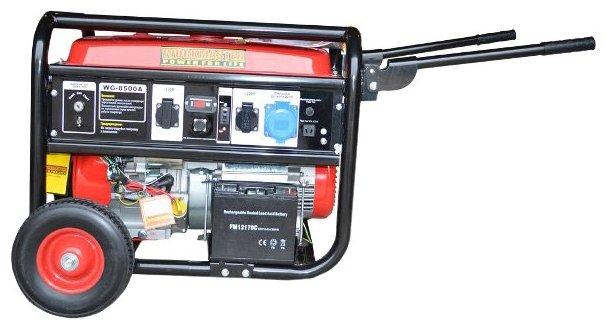 бензиновая электростанция workmaster wg-8500a