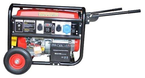 бензиновая электростанция workmaster wg-8500 e2