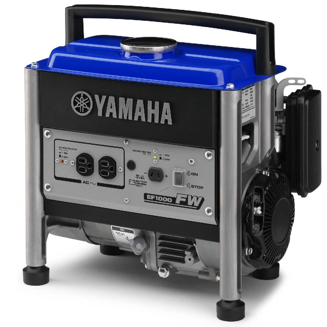 бензиновая электростанция yamaha ef 1000 fw