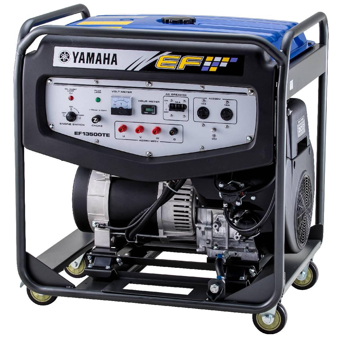 бензиновая электростанция yamaha ef 13500 te