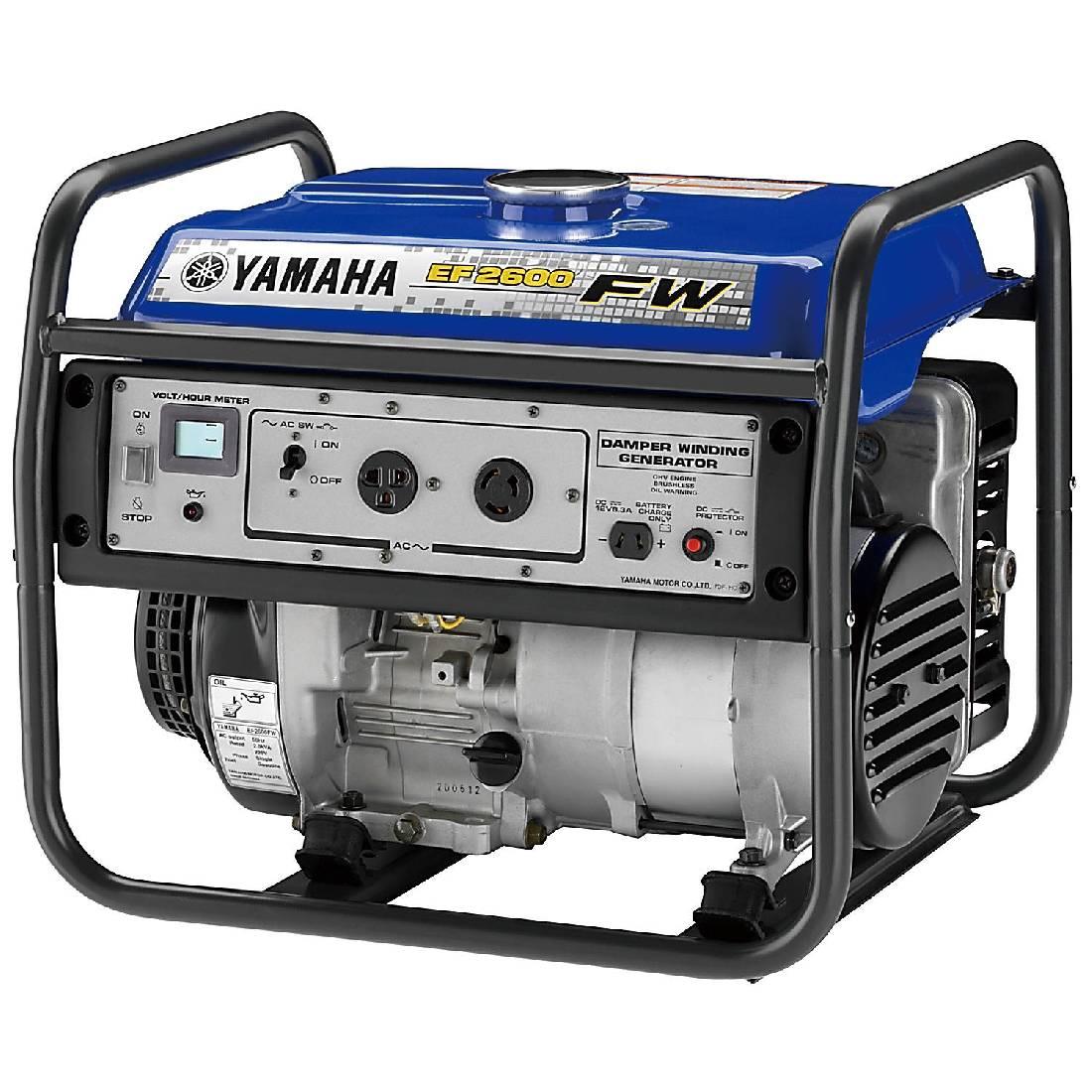 бензиновая электростанция yamaha ef 2600 fw