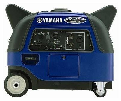бензиновая электростанция yamaha ef3000ise