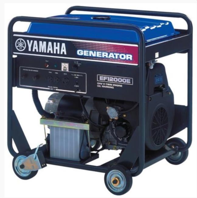 бензиновая электростанция yamaha ef12000e