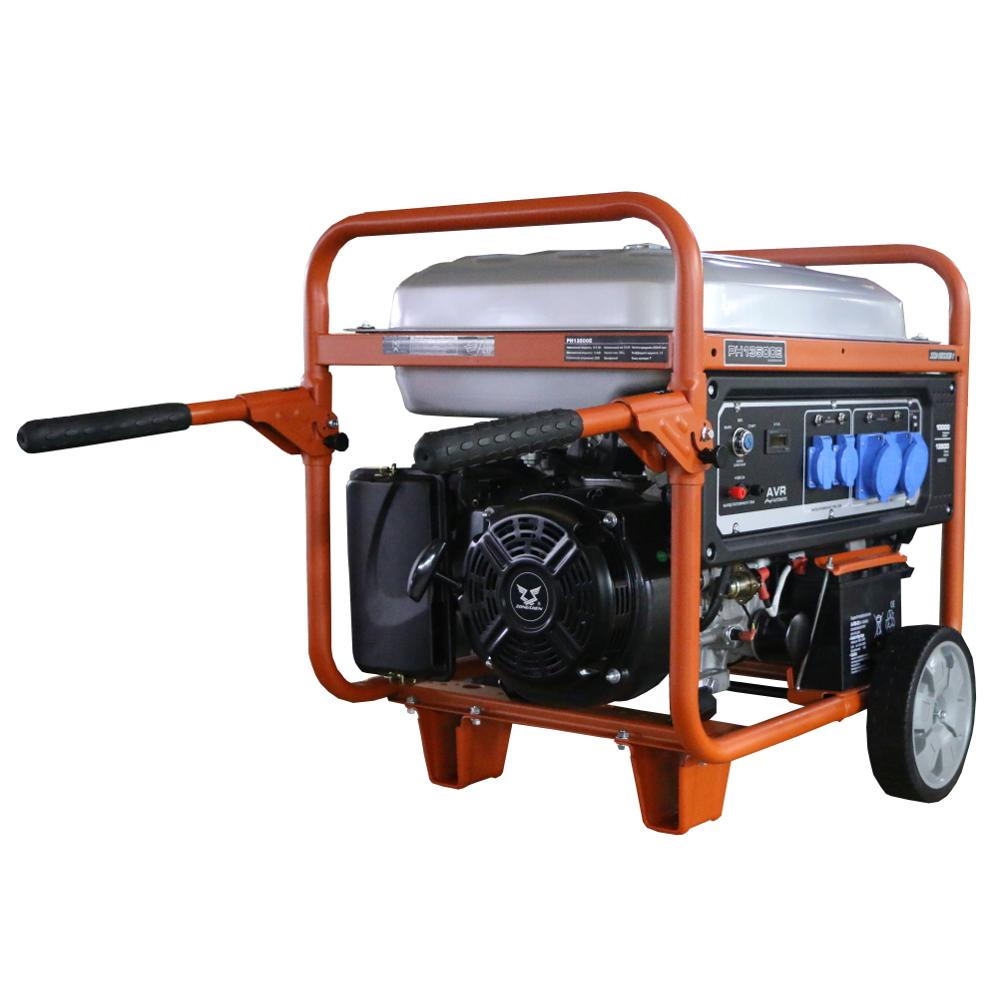 бензиновая электростанция zongshen ph 13500 e