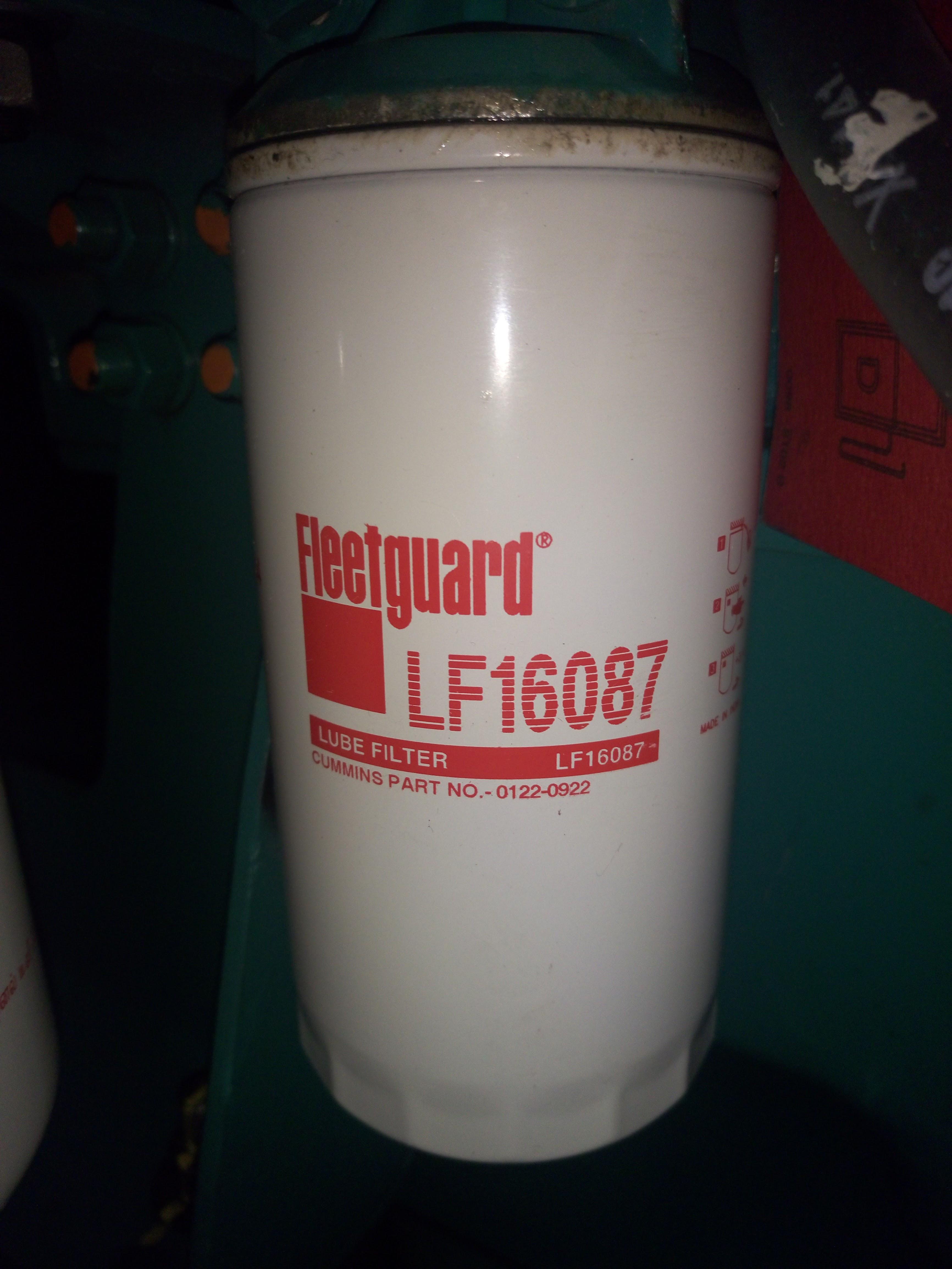 фильтр масляный fleetguard lf16087