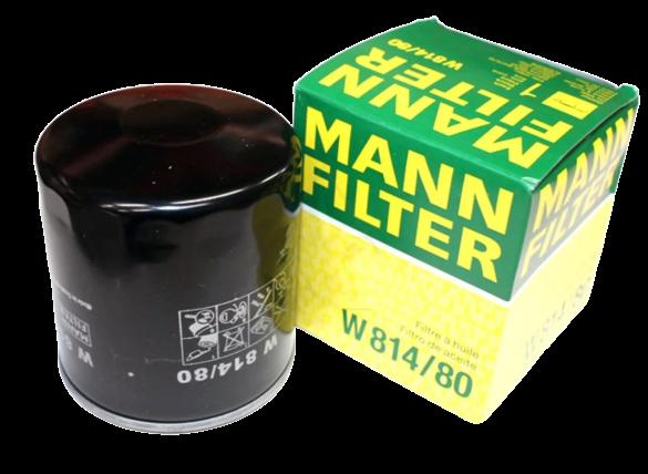 фильтр масляный mann-filter w81480