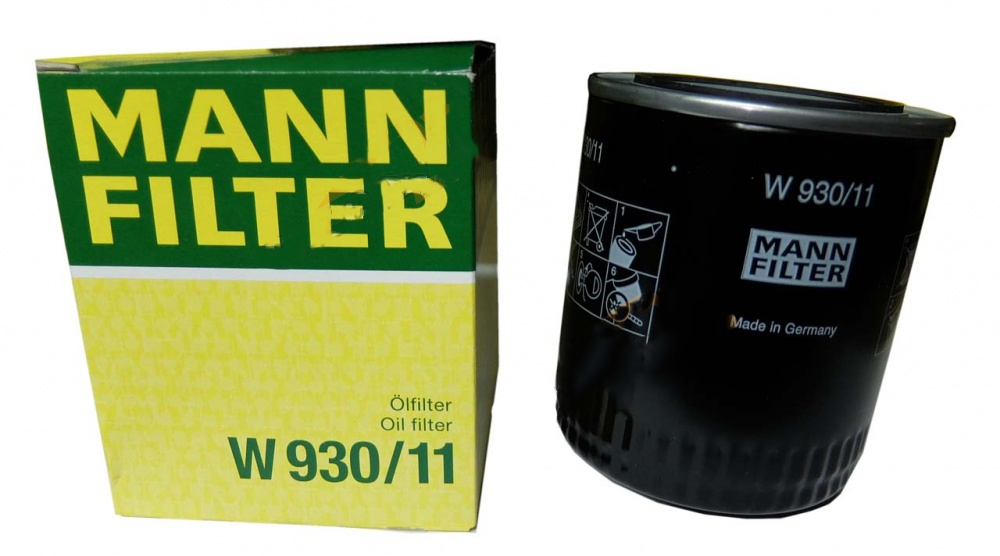 фильтр масляный mann-filter w930/11