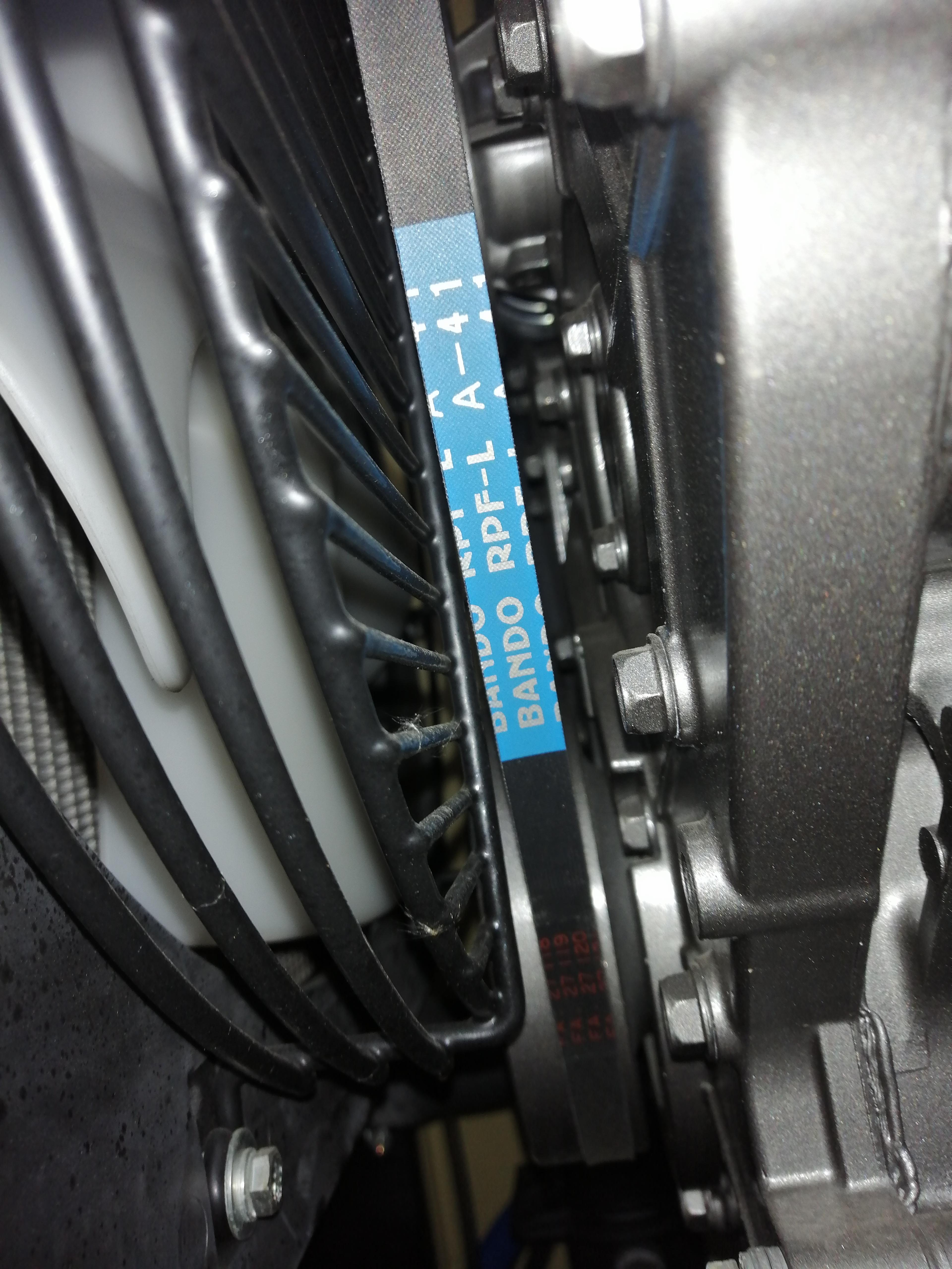 Ремень вентилятора Bando Rpf-l a-41
