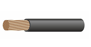 кабель брэкс пугв 1,5 черн.