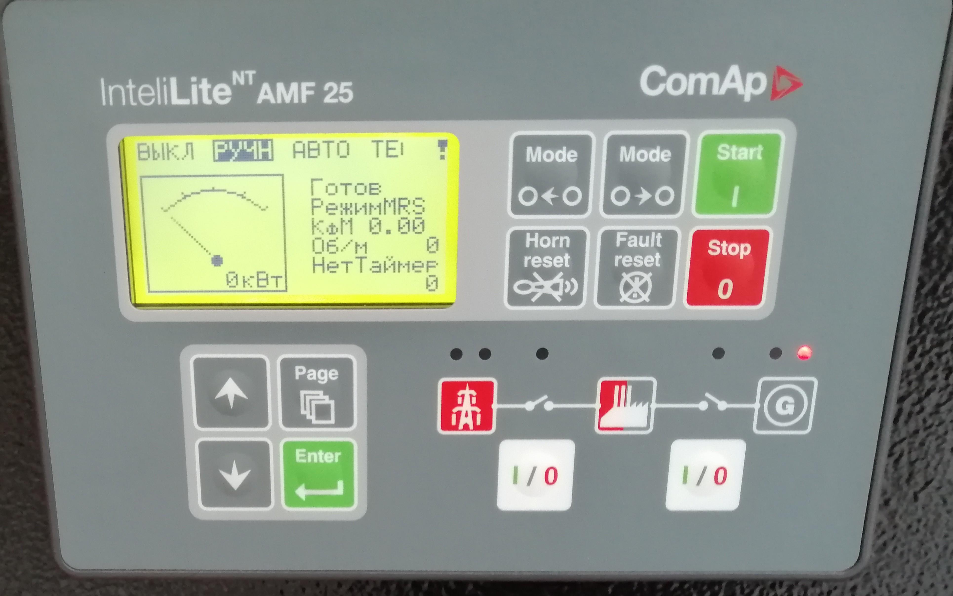 контроллер comap il-nt amf25