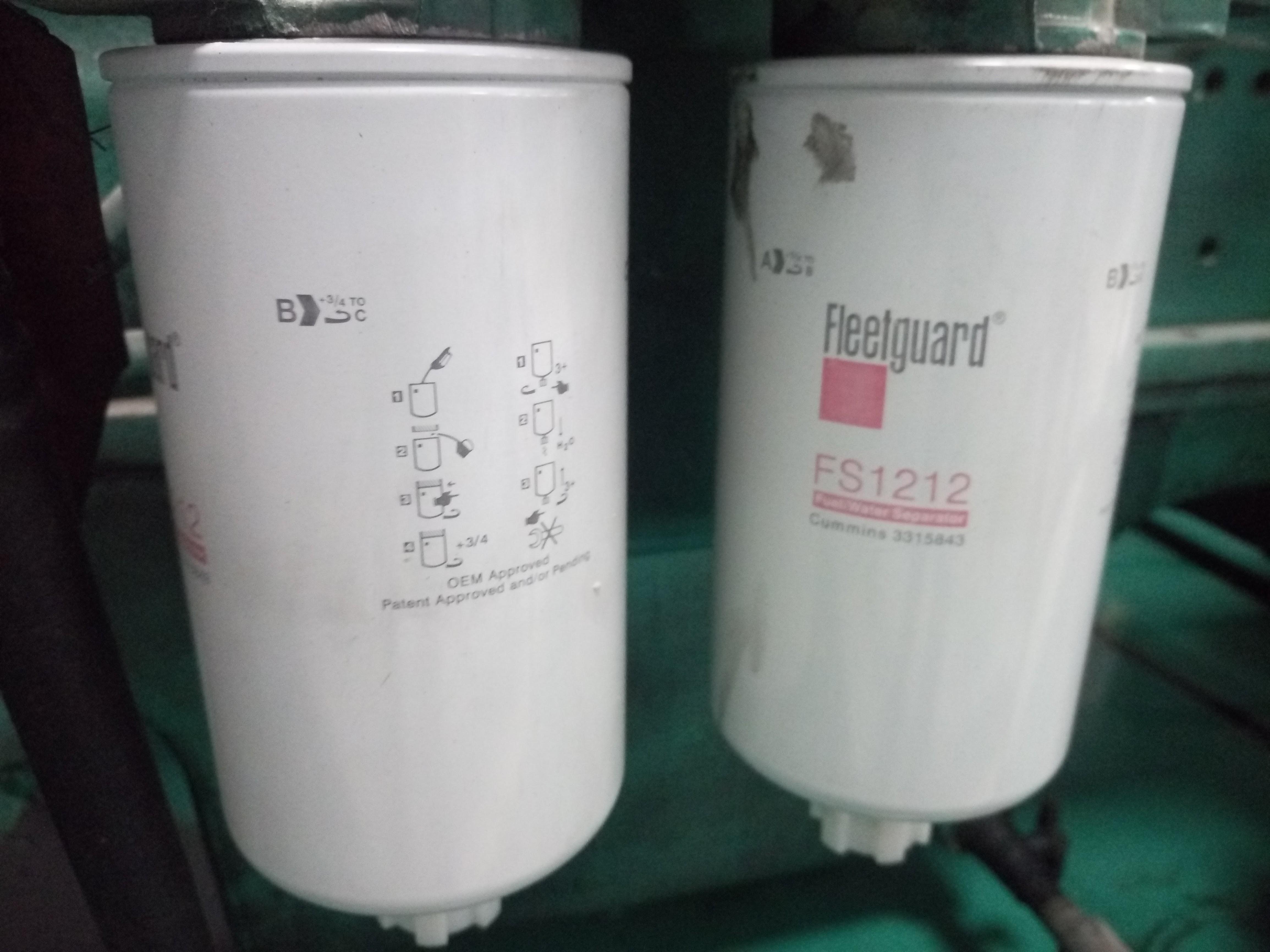 Фильтр топливный Fleetguard Fs1212