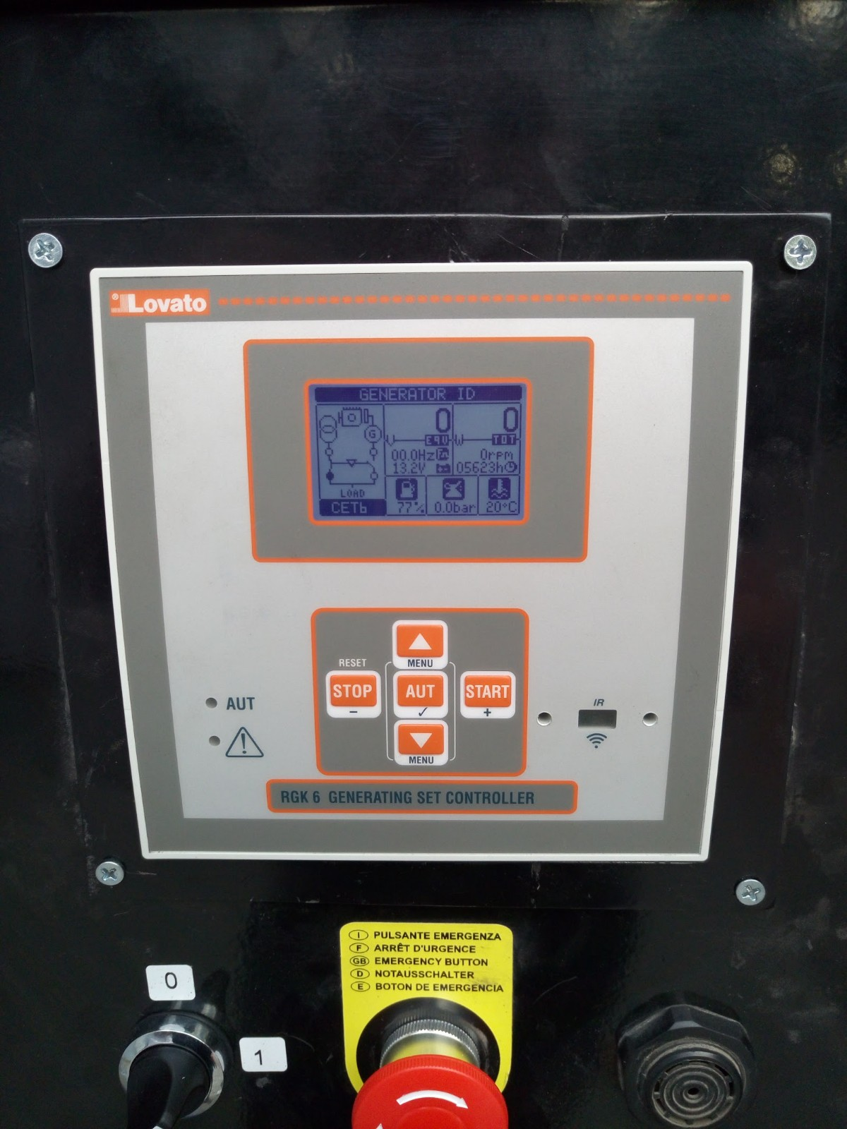 контроллер lovato rgk600