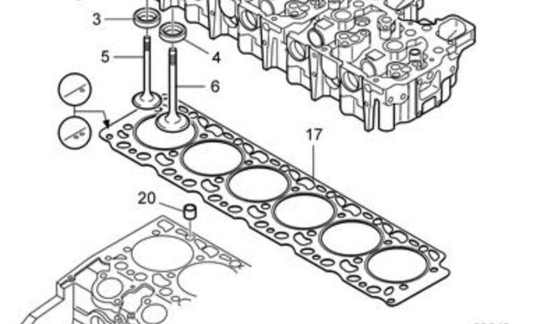 прокладка головки блока цилиндра victor reinz 61-36840-10