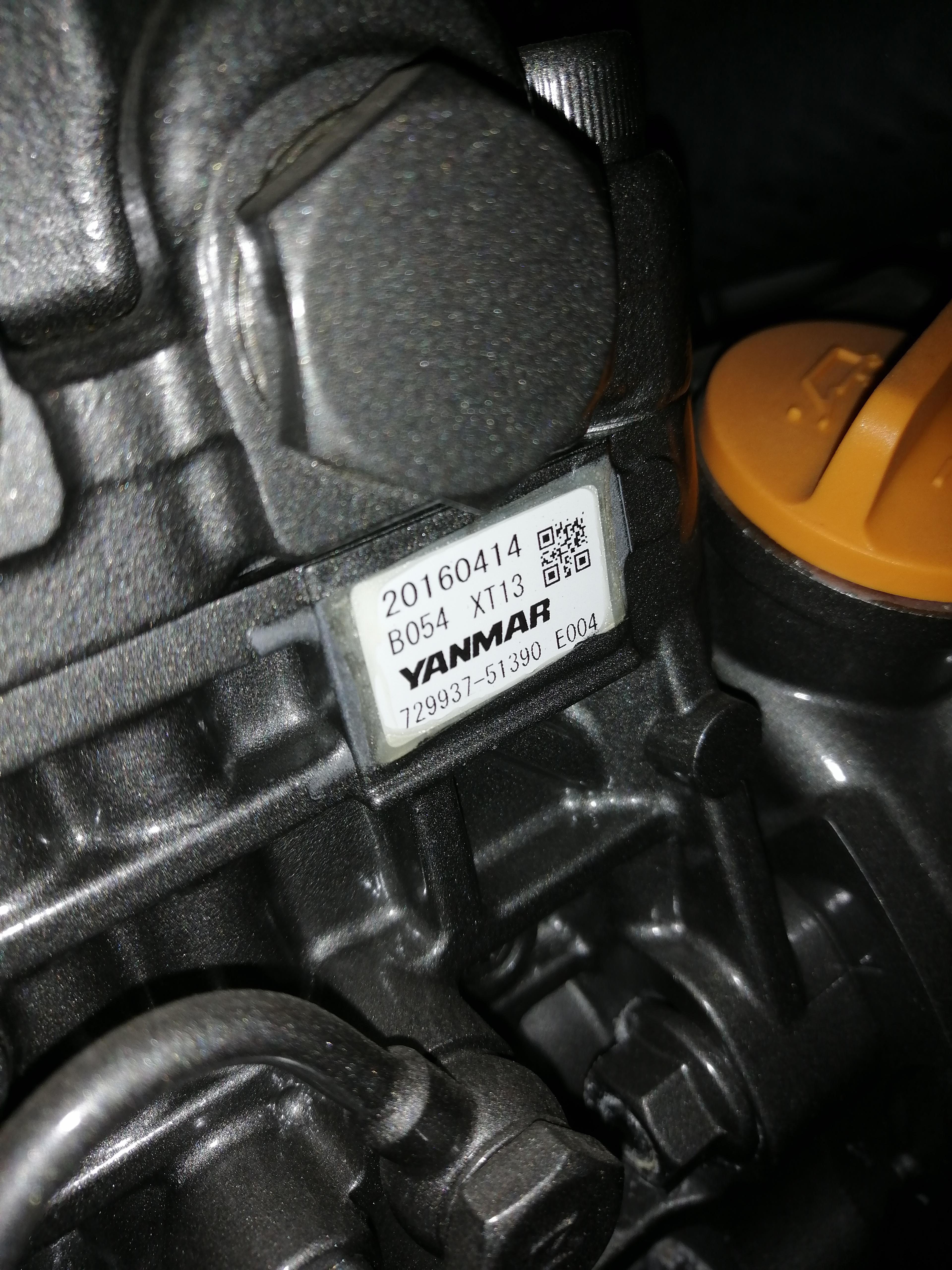 Топливный насос высокого давления Yanmar 729937-51390